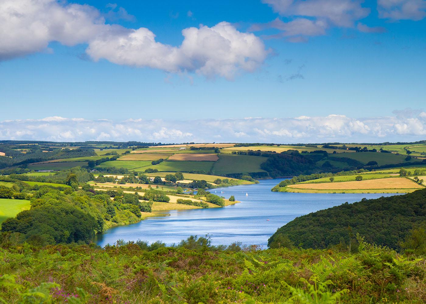 Wimbleball Lake Exmoor Somerset